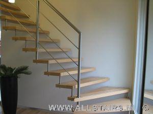 Combinatie trappen alles is mogelijk bij allstairs benelux - Huis met trap ...