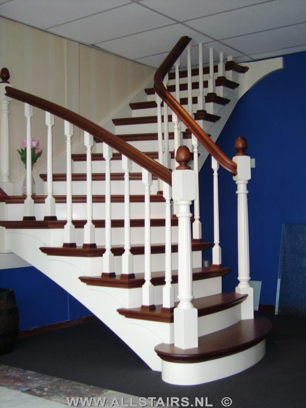 Luxe houten bovenkwartslag trap allstairs heeft precies wat u zoekt - Model interieur trap ...